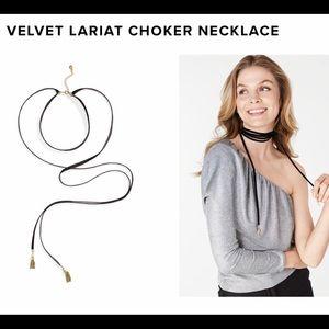 BaubleBar Velvet Choker